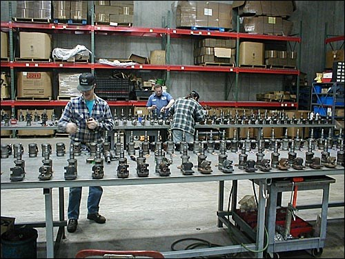 Ford Parts Assembly